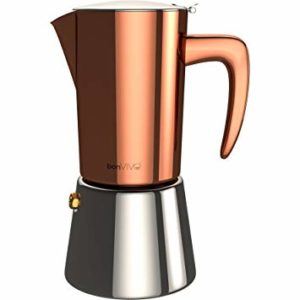 Image d'une cafetière italienne induction BonVivo Intenca