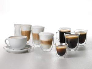 café, expresso, cappuccino, latte macchiato