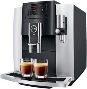 machine à café entièrement automatique Jura E8