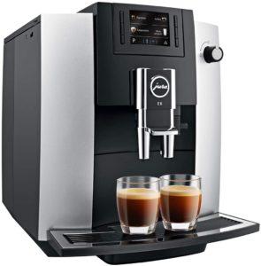 machine à café entièrement automatique Jura E6
