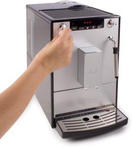 fonctionnement de la machine à café