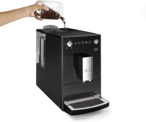 facilité d'utilisation de la machine à café entièrement automatique