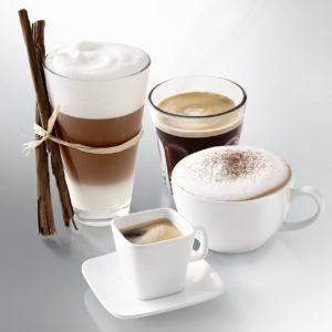 expresso, cappuccino, latte macchiato