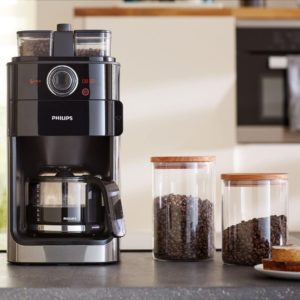 machine à café Philips HD7769/00 avec broyeur intégré