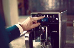 Fonctionnement de la machine à café entièrement automatique