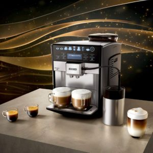 facilité d'utilisation de la machine à café entièrement automatique Siemens