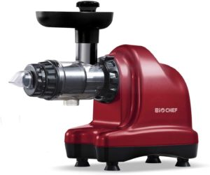Meilleur extracteur de jus horizontal - BioChef Axis Cold Press Juicer