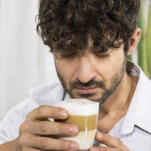 café fraichement moulu