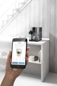 Application mobile connectée au DeLonghi ECAM 370.85.SB