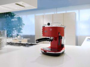 Une cafetière au design vintage