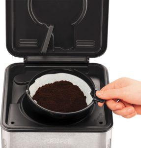 Manipulation de la machine à café Krups