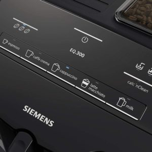 Manipulation de la cafetière Siemens EQ.300