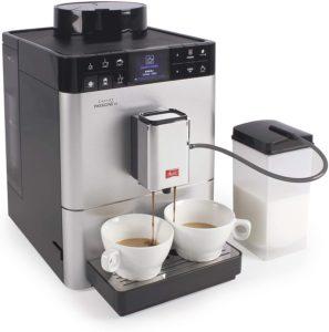 Évaluation du café préparé par le Melitta Caffeo Passione OT