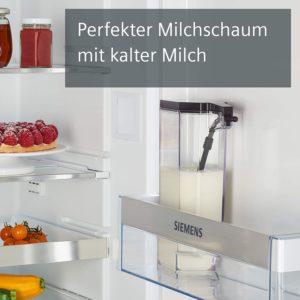 Système de lait du EQ.500 de Siemens