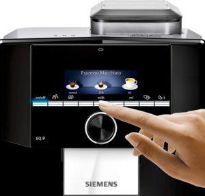 Panneau de commande du Siemens EQ.9 Plus s300