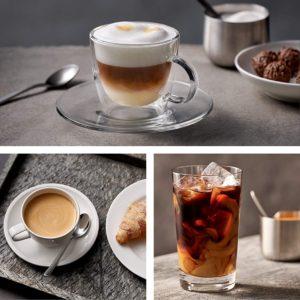 Les variétés de café que fait le Siemens EQ.500