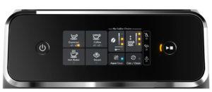 Philips EP1220/00 : interface tactile et facile à utiliser