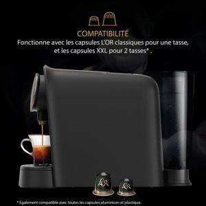 Compatible avec les capsules Nespresso