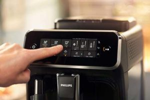 Philips EP3243/50 : Panneau de commande