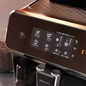 Cafetière à écran tactile