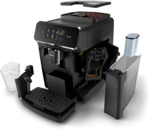 Machine à café avec détartrage automatique