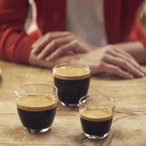 3 tailles de café